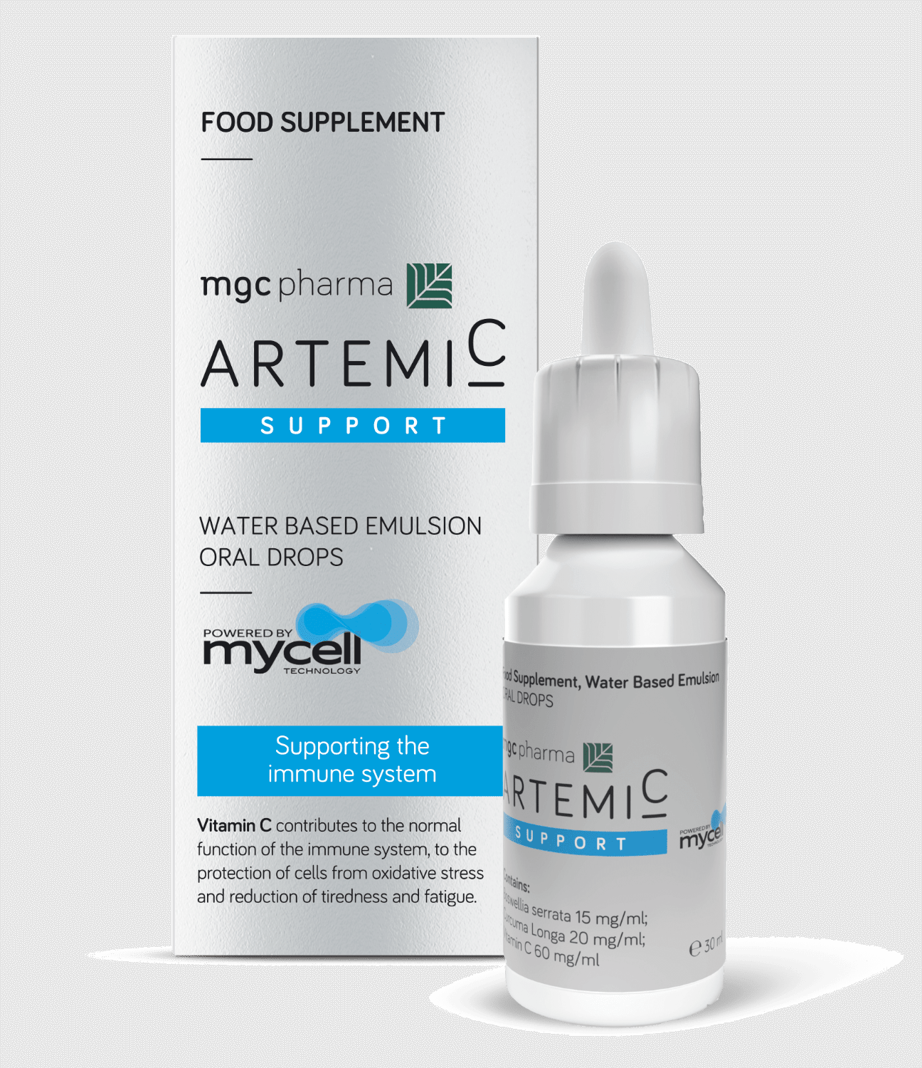 ArtemiC Support protects the cells from oxidative stress, reduces tiredness and fatigue.